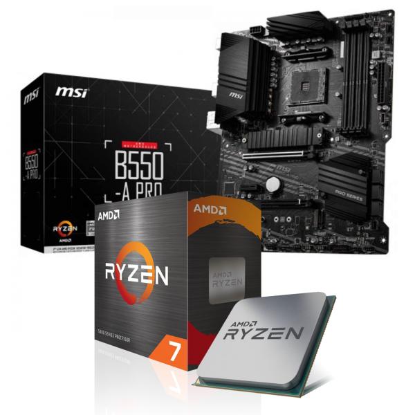 Aufrüst-Kit: MSI B550-A Pro - AMD Ryzen 9 5900X 12x 3.70 GHz