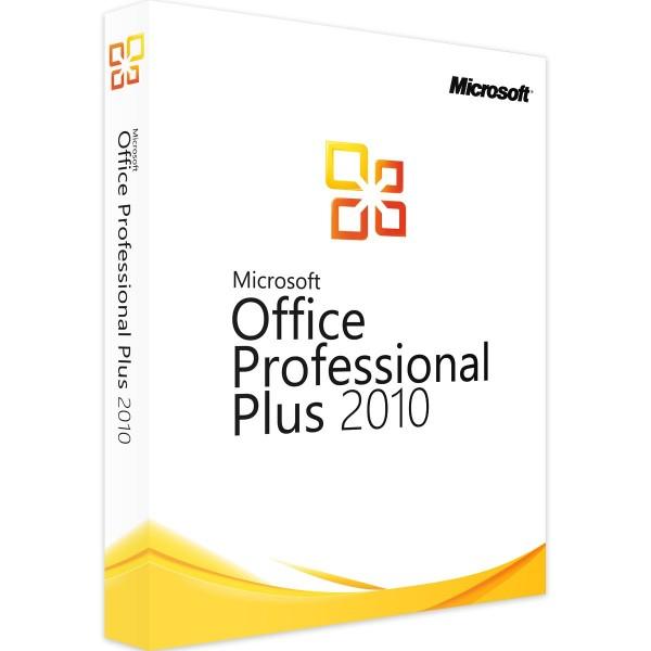 Microsoft Office Professional Plus 2010 - ESD - 1 PC - Win