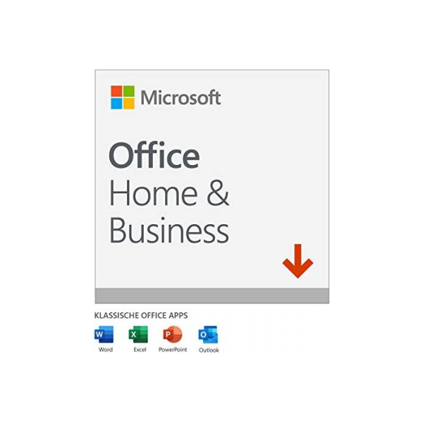 Microsoft Office 2019 Home and Business, PKC (deutsch)