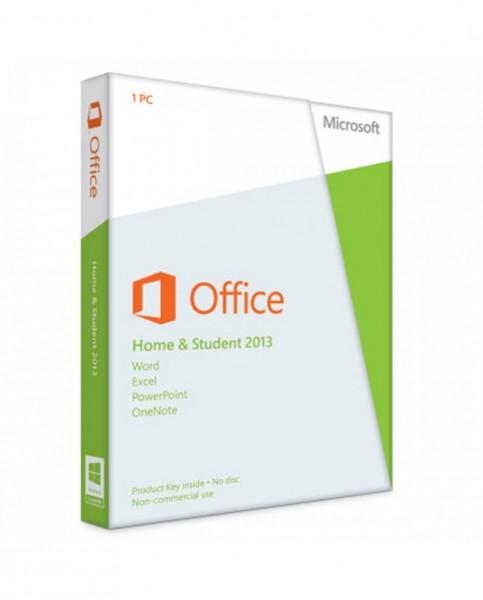 Microsoft Office Home & Student 2013 - Lizenz - 1 PC - Win - Deutsch