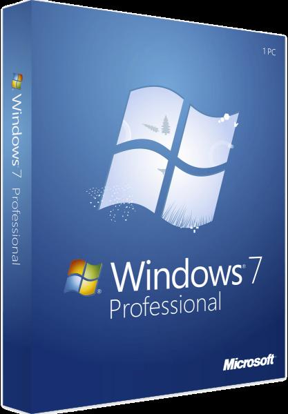 Windows 7 Professional inkl. Service Pack 1, DSP, SB, 1er-Pack (deutsch) (PC) (FQC-04653) Download