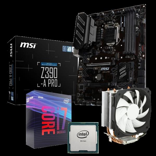 Aufrüst-Kit Intel Core i7-9700K 8x3,6GHz - MSI Z390-A Pro
