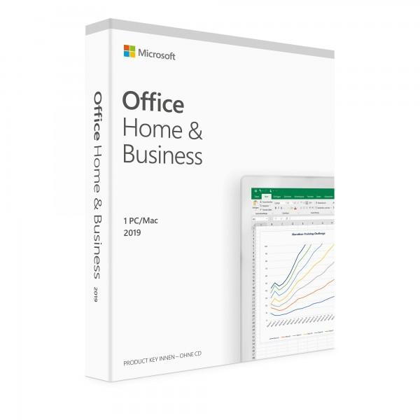 Office 2019 Home & Business für MAC, Vollversion, ESD, 32 Bit und 64 Bit