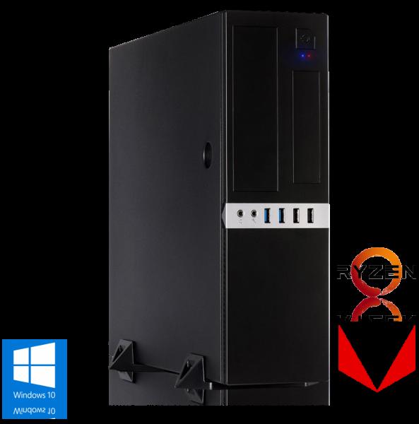 OFFICE PC AMD Ryzen 3 2200G 4x3.50GHz | 8GB DDR4 | Radeon Vega 8 | 120GB SSD | Win 10 Home