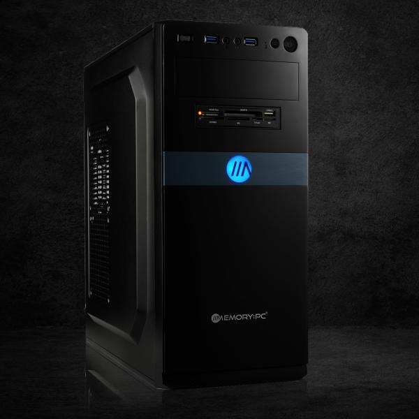 OFFICE KOMPLETT PC | Intel i5-10400F | NVIDIA GT 710 | 8GB | 240 GB SSD + 1000GB HDD | Win 10 Home