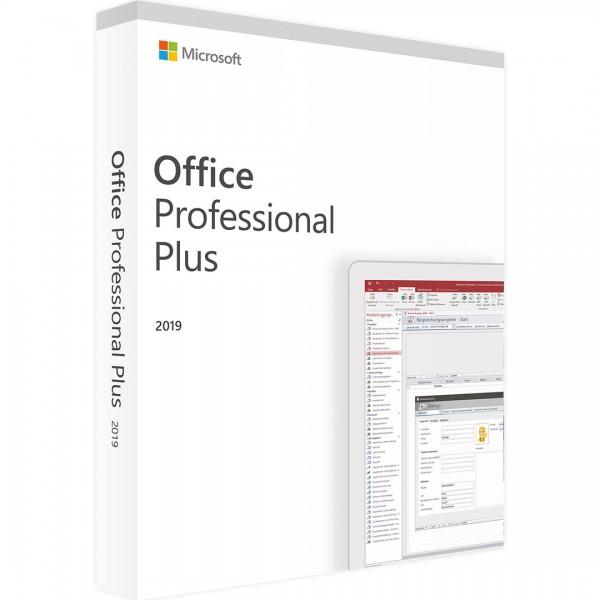 Microsoft Office 2019 Professional Plus 32 Bit und 64 Bit ESD