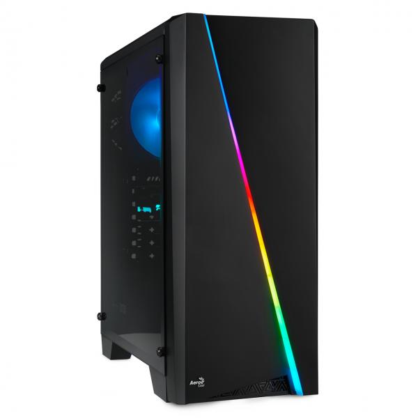 GAMING PC INTEL i5-9600K 6x3.70GHz | 16GB DDR4 | GTX 1650 | 240GB SSD + 2TB HDD | Win 10 Home