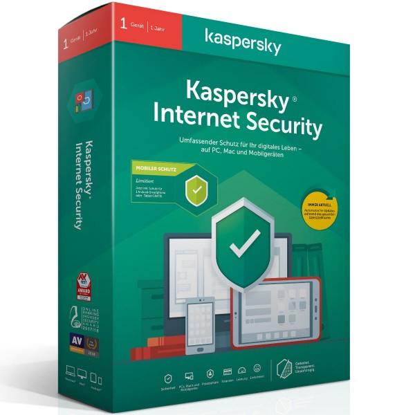 Kaspersky Internet Security, Jahreslizenz, ESD