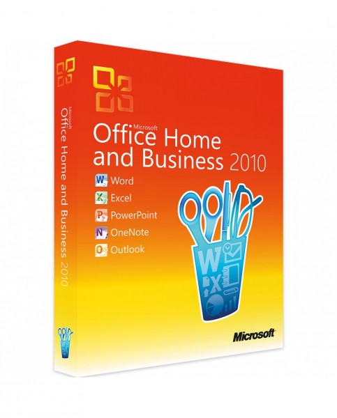 Office 2010 Home & Business, Vollversion, ESD Download